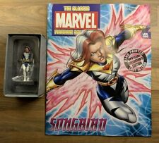SONGBIRD #155 Eaglemoss Classic Marvel Figurine Collection + Magazine