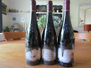 2x Saumur Champigny 1996 Vieilles Vignes Domaine du Vieux Bourg et 1 x Le Clos .