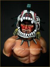 Young Miniatures Aztec Warrior YH1819 non peinte 1/10th Scale Bust