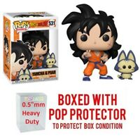 "Funko Pop Dragon ball z : YAMCHA & PUAR #531 Vinyl w/Case ""MINT"""