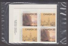 CANADA SEALED PLATE BLOCKS 851-852 35c x 16 ACADEMY OF ARTS, FULLER & O'BRIEN