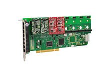 OpenVox A800P22 8 Port Analog PCI Base Card + 2 FXS + 2 FXO, Ethernet (RJ45)
