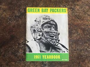 1961 Green Bay Packer Yearbook