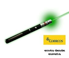 Potente puntero láser verde  profesional de 1 mW varios km linterna noche green