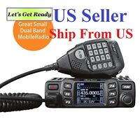 New Anytone AT-778UV Version 2 Dual-Band VHF/UHF 25W Mobile Radio US Seller