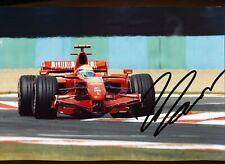 Formula 1 - FILIPE MASSA  - Ferrari  - 2007 - SIGNED
