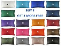 KING SIZE Silk Bedding Pillow Case / Slip / Cover: 50 x 92 cm (20x36 inches)