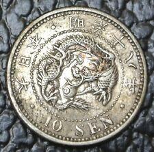 Japan - 10 Sen - Silver - Nice High Grade