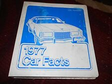 1977 FORD MUSTANG II COBRA II THUNDERBIRD GRANADA MAVERICK PINTO DEALER ALBUM W