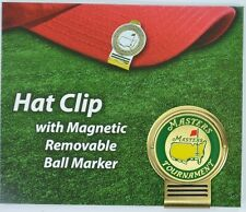 2016 Masters HAT CLIP with MAGNETIC REMOVABLE BALL MARKER from Augusta National