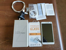 Samsung Galaxy Note 4 White Android Smart Mobile. Mint condition.White