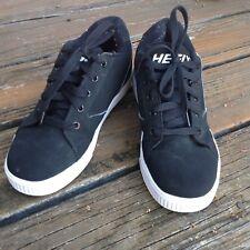 Heelys Black White Skate Sneakers Mens 7 UK 6 EUR 39 Athletic Roller Sk8 Shoes