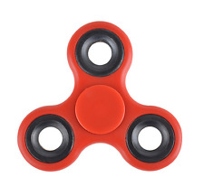 Stress Relief Hand Spinner and Spinning Fidget-Red