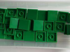 Lego Teile NEU - 5 Stück Fliese 2x2 mit Nut 3068b grün ref:454