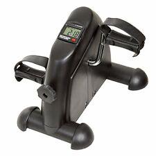 Portable Fitness Pedal Stationary Under Desk Indoor Exercise Machine Bike Black
