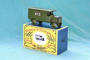 Matchbox Yesteryear Y7-1 1918 Leyland 4 Ton Van - Code 3 (E19)