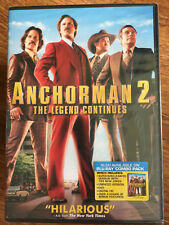 Will Ferrell ANCHORMAN 2: THE LEGEND CONTINUES ~ 2013 Comedy Region 1 DVD BNIB