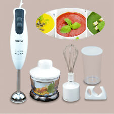 AM_ NE_ Electric Hand Blender Food Processor Stick Whisk Milkshake Juicer Mixer