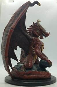 D&D Miniatures Huge Red Dragon & Bulette [Giants of Legend]