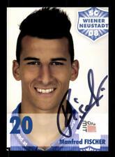 Manfred Fischer Autogrammkarte SC Wiener Neustadt 2014-15 Original Sign+A 172158
