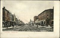 Antigo WI Fifth Ave c1910 Postcard
