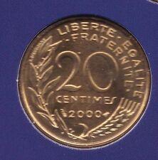 20 CENTIMES MARIANNE 2000 DU COFFRET BU