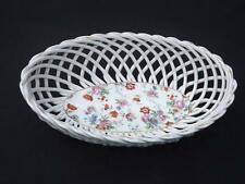 Erphila Dorset Open Weave Basket Gold Trim