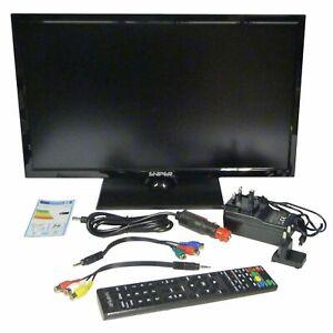 "REFURB 16"" 19"" 22"" 24"" - 12V/24V Travel Camping TV DVD Freeview DVB-S2 USB HDMI"