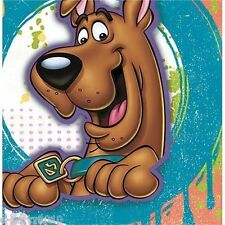 SCOOBY DOO PAINT SPLATTER LARGE NAPKINS 16ct  ~ Birthday Party Supplies Luncheon