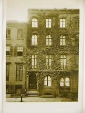 WINFIELD SCOTT HOUSE 24 W 12th NYC 1750  Antique Art Matted