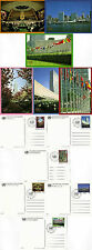 UNITED NATIONS 1989 SET OF ALL 6 VIEW POSTCARDS ALL FDI NEW YORK