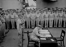 WWII PHOTO JAPANESE SURRENDER WW2 WWII World War Two USS Missouri Tokyo Japan