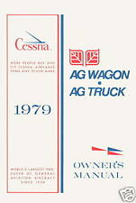 CESSNA MODEL 188 AG WAGON & AG TRUCK 1979 OWNERS MANUAL