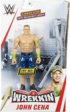 WWE John Cena Wrekkin' Figure with Ladder BRAND NEW