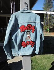 Betty Boop Blue Denim Jean Jacket~1996~AMERICAN COMIX.