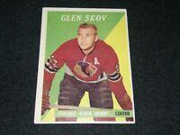 1958 TOPPS HOCKEY #3 GLEN SKOV CHICAGO BLACKHAWKS