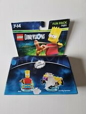 Lego Dimensionen die Simpsons Bart Fun Pack 71211 ps3 ps4 Xbox One * Box beschädigt *