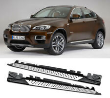 Aluminum Running Board Side Step Nerf Bar Platform For 08-14 BMW X6 E71 E72