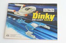 Dinky Die Cast Toys No 13 Publication - (B57)