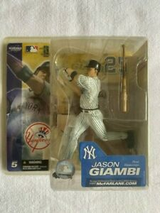 McFarlane JASON GIAMBI #25 New York Yankees VARIANT (No Patch) MLB Series 5