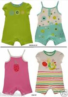 BABY GIRL'S 2PC SUMMER ROMPER SET/OUTFIT 1 3 6 9 12 18 23MTHS