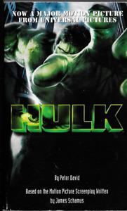 Hulk by Peter David (2003, Paperback, Movie Tie-In) Marvel Comics Del Rey OOP