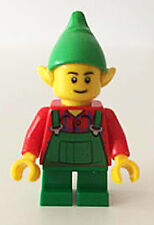 LEGO 10245 Winter Christmas Holiday Elf Minifigure T1 NEW