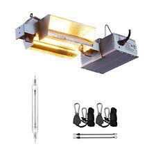 1000W Watt Double Ended DE Grow Light Fixture Kit 120V/240V Ballast 240V Plug