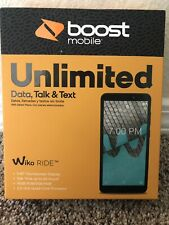 """WIKO RIDE BOOST MOBILE 5.45"""" Touchscreen 16GB 5MP - Brand New Sealed"""