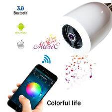 LED Speaker Lamp Electronic Magic Night Light APP Bluetooth w Speaker Smart E27