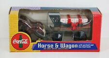 Coca Cola Ertl Horse & Wagon Bottle Delivery Truck Diecast Coin Bank  NEW IN BOX