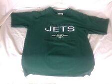New York Jets Football Shirt Stitched Logo Lee Sport Men's Medium Green