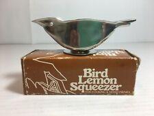 Vintage Bird Lemon Squeezer Stainless Steel Hong Kong