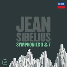 Sibelius: Symphonies Nos. 3, 6 & 7 - Boston Symphony Orchestra Colin Da (NEW CD)